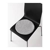 """ИКЕА """"БЕРТИЛЬ"""" Подушка на стул, серый 33 см."""