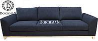 Современный диван на деревянных ножках на три посадки Dream , фото 1