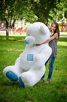 Самый большой мишка Потап. Тедди 250см.  Белоснежный