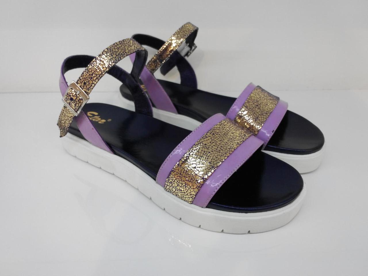 Босоножки Etor 5357-56153-12 фиолетовые