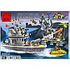 Конструктор Brick Военный корабль серии Боевые зоны 819