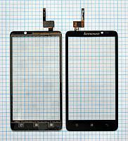 Тачскрин сенсорное стекло для Lenovo S890 black