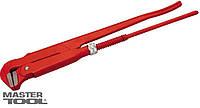 "Ключ трубный 90° 1""(33.5мм), литой Mastertool (76-0751)"