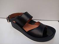 Босоножки-мыльницы (цвет черный)