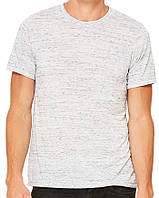 Футболка Bella + Canvas Unisex Unisex Poly-Cotton Short Sleeve Tee White Marble