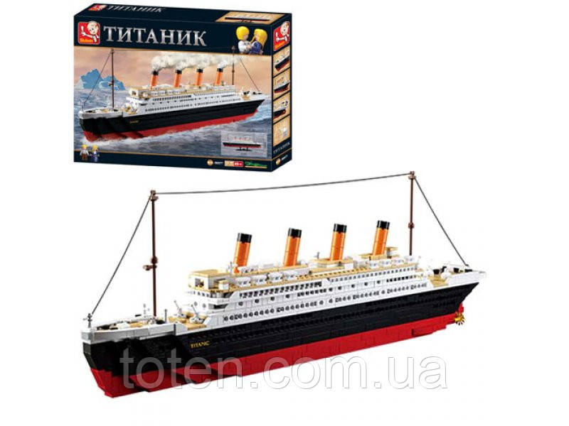"Конструктор Sluban ""Титаник"" 1012 дет,  M38-B0577"