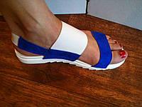 Женские сандалии, босоножки 2485 Рамер 36 Кожа (легкие, на резинках)