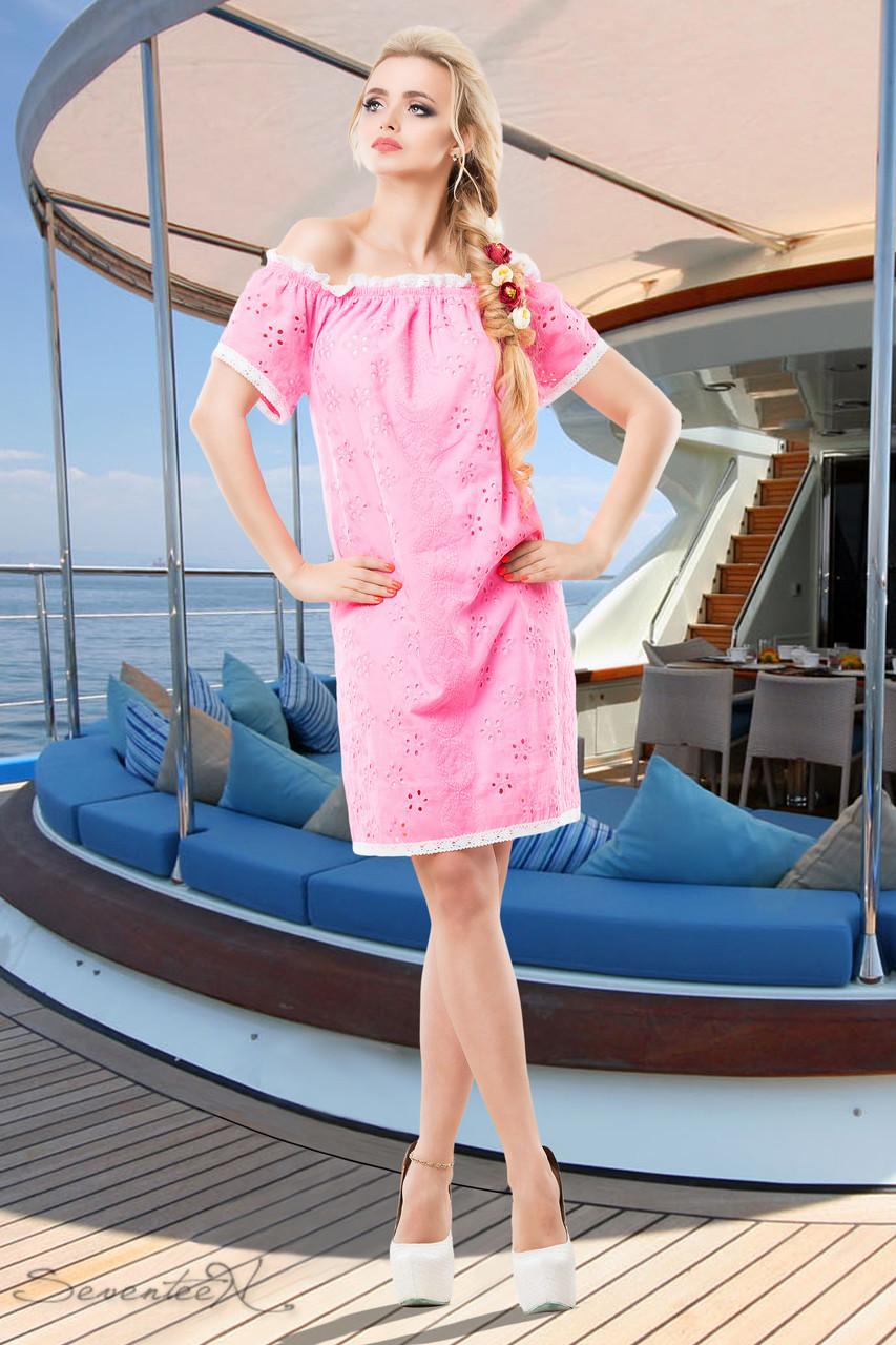 Нежное и легкое, как пушистое летнее облачко, платье