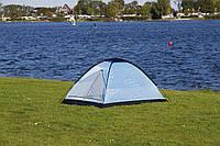 Туристическая палатка  2- х местная (синяя или зеленая)  140х205 см