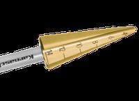 Сверло коническое по металлу от 3-14 мм. с покрытием TiN-GOLD Karnasch (Германия)