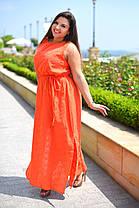 Х8034 Платье гречанка с вышивкой размеры 50-56 , фото 2