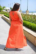 Х8034 Платье гречанка с вышивкой размеры 50-56 , фото 3