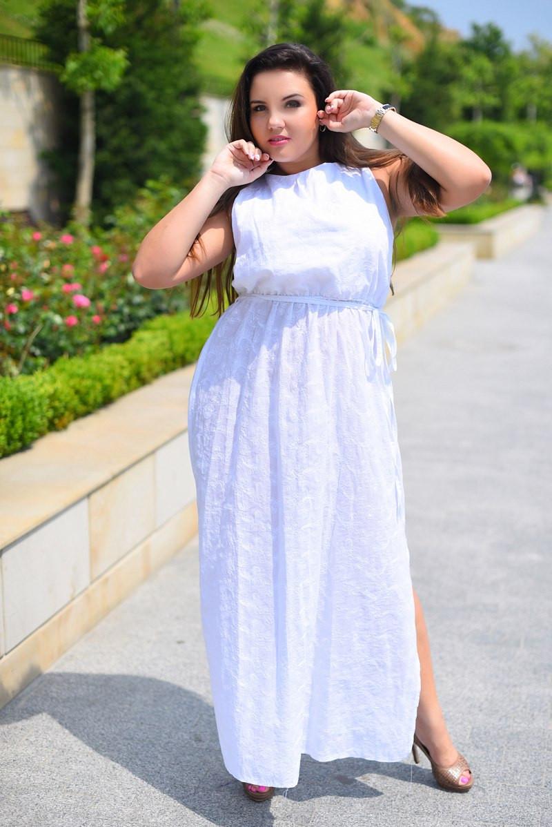 Х8034 Платье гречанка с вышивкой размеры 50-56