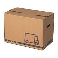 """ИКЕА """"ЭТЭНЕ"""" Упаковочная коробка, коричневый"""