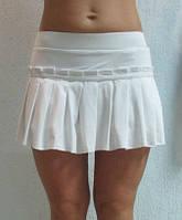 Женская юбка Adidas (36268) белая код 0121 Б