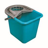 Ведро для уборка прямоугольное с отжимом 14 литров