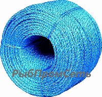 Веревка \ канат полипропиленовый, диаметр 3мм, 200м