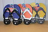 Шлепки сланцы на мальчика 28-35 р SUPER GEAR  Венгрия,цвета желтый,синий,оранжевый., фото 3