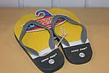 Шлепки сланцы на мальчика 28-35 р SUPER GEAR  Венгрия,цвета желтый,синий,оранжевый., фото 8
