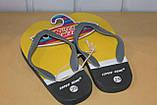 Шлепки сланцы на мальчика 28-35 р SUPER GEAR  Венгрия,цвета желтый,синий,оранжевый., фото 9