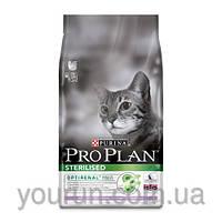 Сухой корм для кастрированных кошек (индейка) PURINA Pro Plan (Про План) Sterilised Turkey 1.5кг
