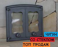 Дверцы для камина двустворчатые
