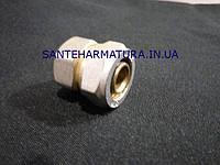 Муфта для металлопластиковых труб 20-1/2 в