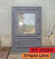 Дверцы для печи со стеклом Halmat FPM2, фото 1