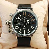 Мужские механические наручные часы U-Boat Italo Fontana U-1001 на каучуковом ремешке, фото 1