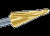 Сверло коническое по металлу от 4-20 мм. с покрытием TiN-GOLD Karnasch (Германия)