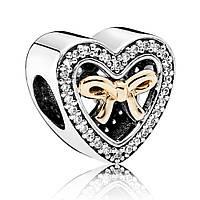 Подвеска-шарм Связанный любовью золото 585