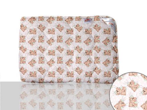 Одеяло силиконовое детское (розовое)