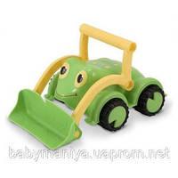 Детская игрушка Бульдозер Лягушонок Melissa & Doug
