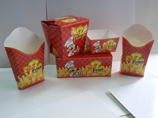 Производство упаковок для фаст фуда 18