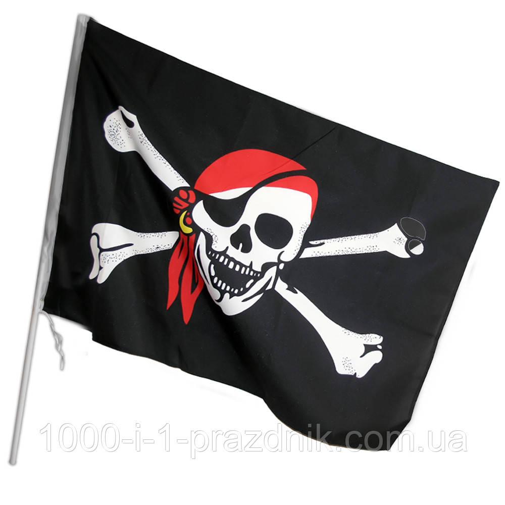Пиратский флаг маленький