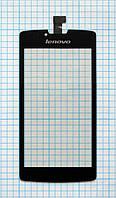 Тачскрин сенсорное стекло для Lenovo S870e black
