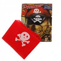Пиратский набор (бандана,повязка на глаз, кольцо в ухо)