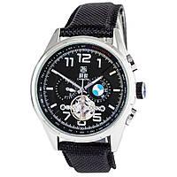Мужские механические наручные часы Tag Heuer BMW Power Carrera GMT на синтетическом ремешке, фото 1
