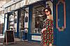 Платье женское  с поясом клубника, фото 2