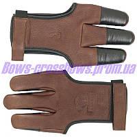 Перчатка для защиты при стрельбе из лука Deerskin BearPaw Элитная