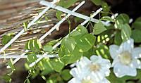 Лесенка для цветов 38 см , 4 ступени белая