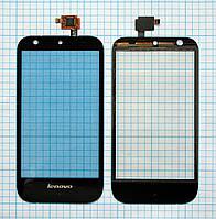 Тачскрин сенсорное стекло для Lenovo S680 black