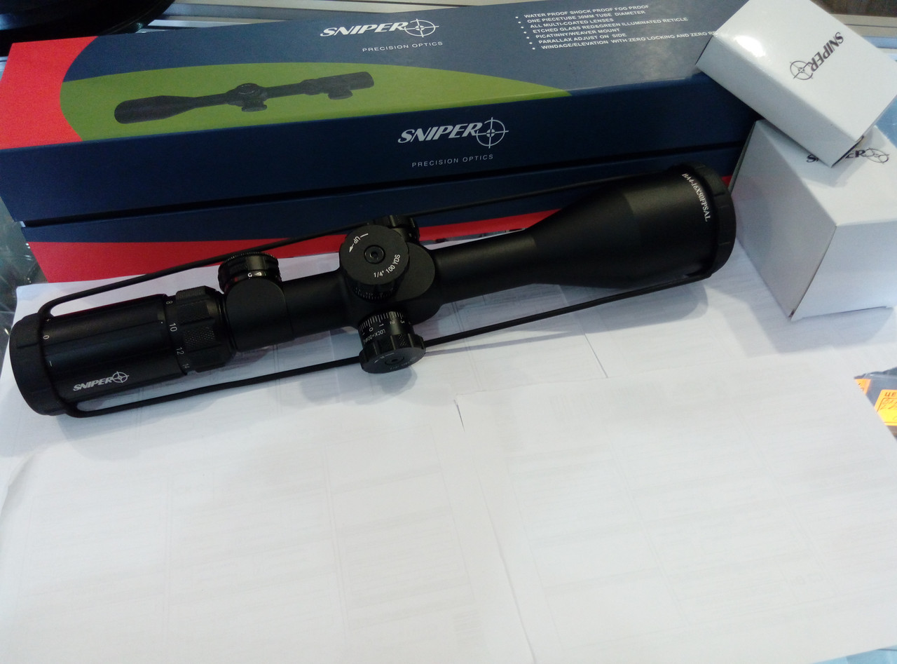 Прицел оптический Sniper 4-16X50 FPSAL первая фокальная плоскость