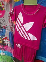 Комплект футболка и бриджи для девочки р. 28-34