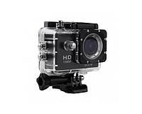 Спортивная видеокамера SJ4000 Led wi-fi черный