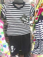 Комплект футболка и бриджи для мальчика Моряк р. 26-34