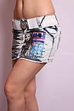 Женская джинсовая юбка короткая, фото 2