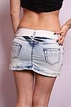 Женская джинсовая юбка короткая, фото 3