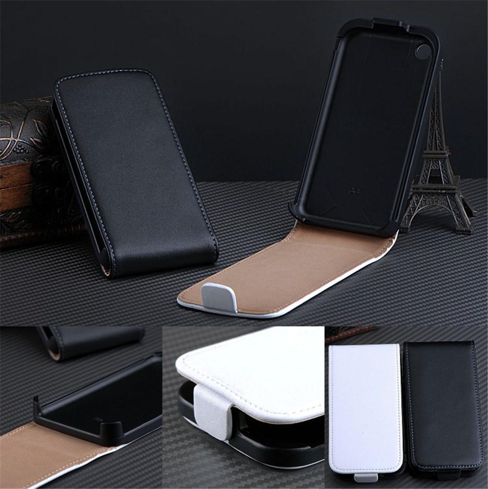 Кожаный чехол-книжка для iPhone 3G 3GS