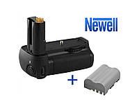 Battery pack NEWELL D80N для Nikon D80/D90 + аккумулятор EN-EL3e